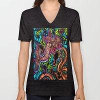 Abstract Mermaid Unisex V-Neck
