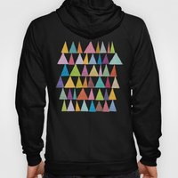 Analogous Shapes In Bloom. Hoody