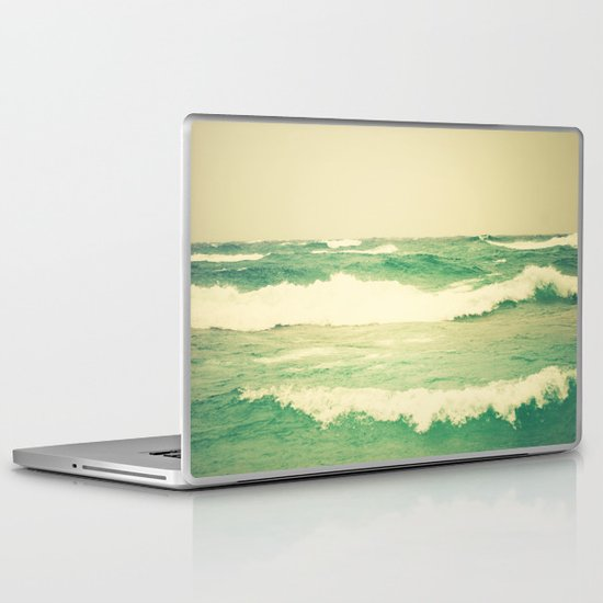 Sea Glass Laptop & iPad Skin
