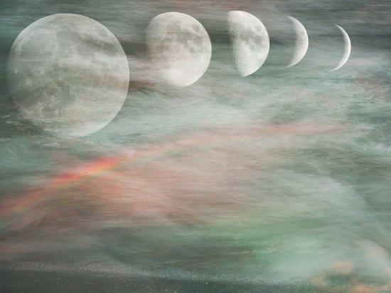 On Moonlight and Rainbows Art Print