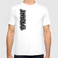 *FOR ZIP UP HOODIE  Mens Fitted Tee White SMALL