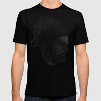 Max Roméo Mens Fitted Tee Black SMALL