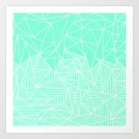 Becho Rays Art Print