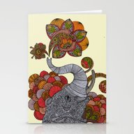 Stationery Cards featuring Dreams Of India by Valentina Harper