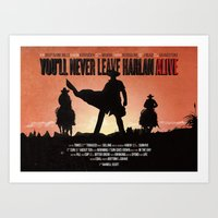 You'll Never Leave Harla… Art Print