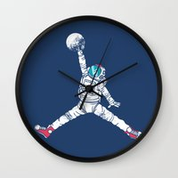 Space dunk Wall Clock