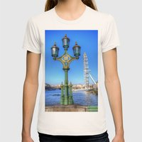London Eye, London Womens Fitted Tee Natural SMALL
