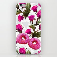 Roses are Pink, Donuts are Delicious iPhone & iPod Skin