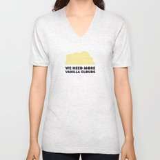 We need more vanilla clouds. Unisex V-Neck
