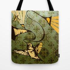 analog zine - song bird Tote Bag