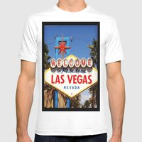 Ah Vegas... Mens Fitted Tee White SMALL