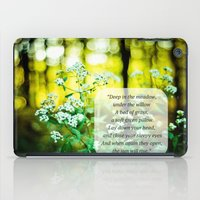 The Hunger Games Rue's Lullaby  iPad Case