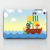 pirate ship iPad Case