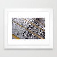 {rain} Framed Art Print