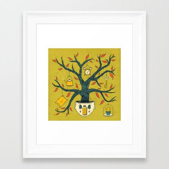 Dulce, hogar dulce Framed Art Print