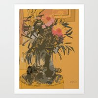 Florero Art Print