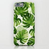 iPhone Cases featuring TROPICAL by judith van den hoek