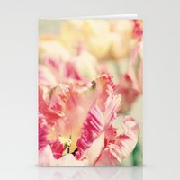 Parrot Tulips Stationery Cards