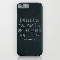 iPhone & iPod Case featuring I. The other side of fear. by Zyanya Lorenzo