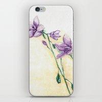 Campanula iPhone & iPod Skin