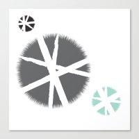 Poufs Canvas Print