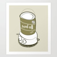 One Gallon Hat Art Print