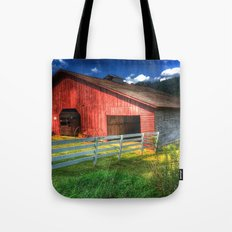 Barn in Valle Crucis, NC Tote Bag