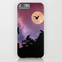 Crow meeting iPhone 6 Slim Case