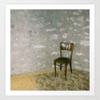 chair Art Print