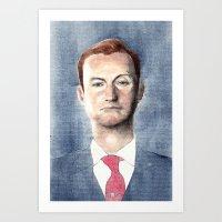 Mycroft Holmes Art Print