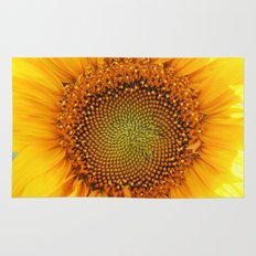 If the sun was a flower! Rug