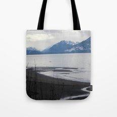 Solitude :: A Lone Kayaker Tote Bag