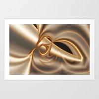 platinum Art Print