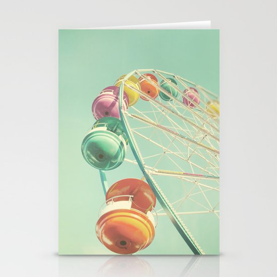 Rainbow Wheel Stationery Card
