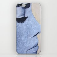 Eyelashes iPhone & iPod Skin