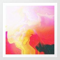 Glitch 05 Art Print