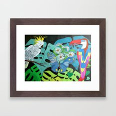Insieme con Allegria (Together with Happiness) Framed Art Print