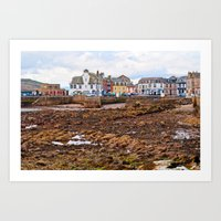 Tides Out In Millport  Art Print