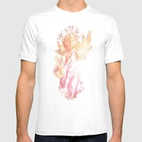 Broken Angel Mens Fitted Tee White SMALL