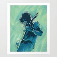 Mr David Grohl Art Print