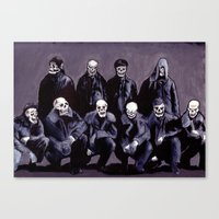 SQUAD 666: Bastard Sons of Satan Canvas Print