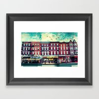 A Chicago Avenue Framed Art Print