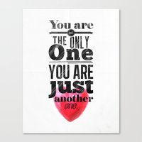 You are not the only One. Canvas Print