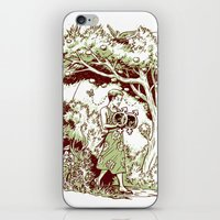 Intersectional Nature iPhone & iPod Skin