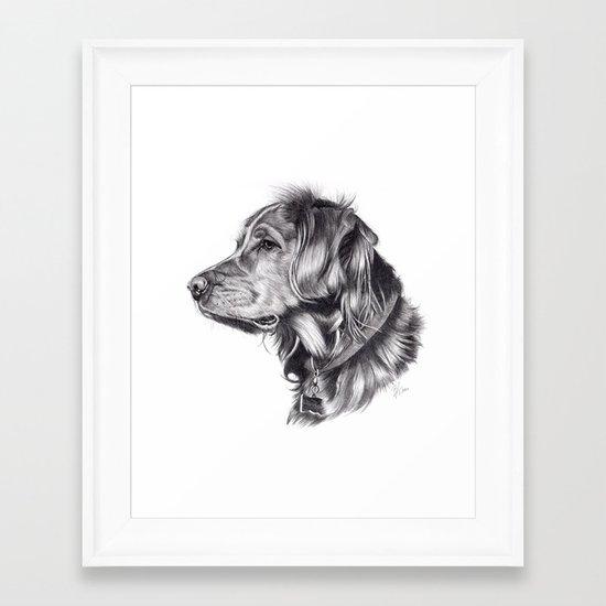 Retriever Framed Art Print