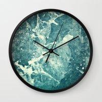 Water II Wall Clock