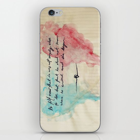 Tolstoy's Love iPhone & iPod Skin