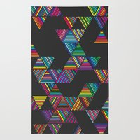 Rainbow Night Rain Rug