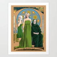 The Summer Court of the Sidhe Art Print
