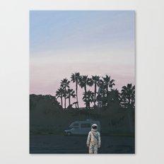 RV Dusk Canvas Print